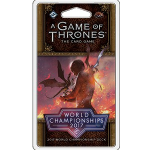 A Game of Thrones LCG (2nd Ed): World Championship Deck 2017